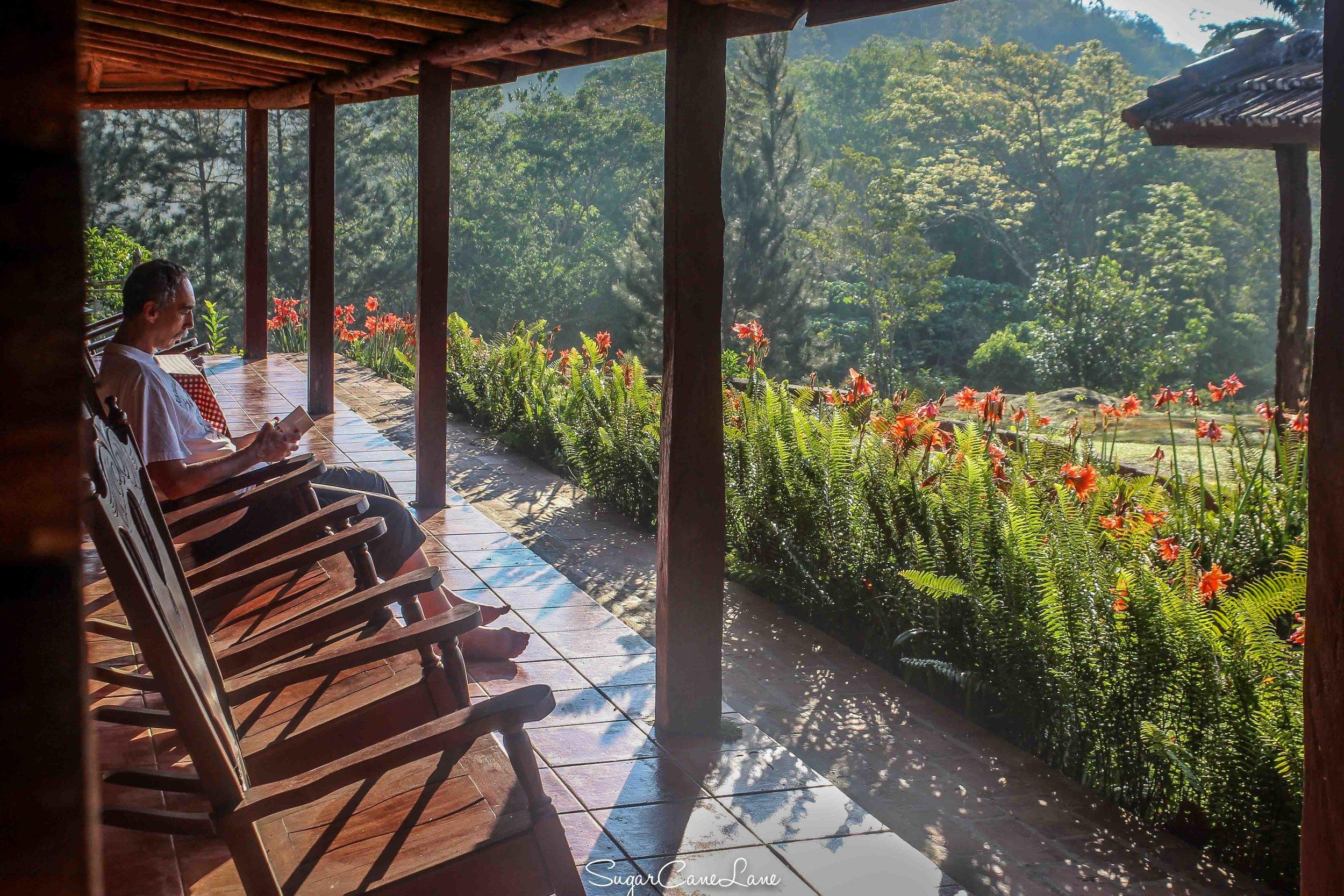 Cuba_Banaos : veranda