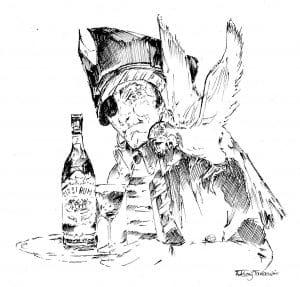 Pirate et perroquet