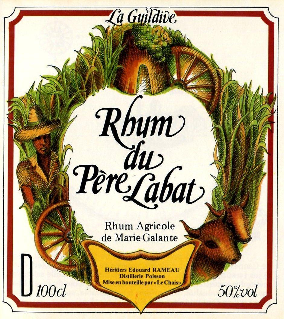 Rhum Père Labat : label