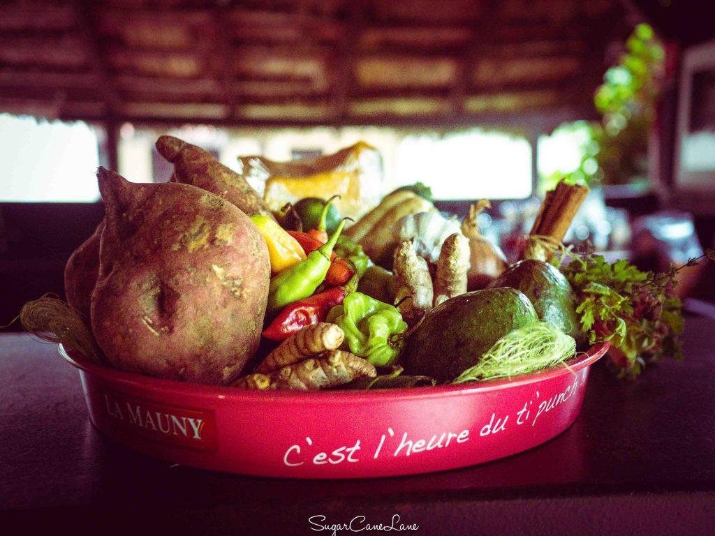Ma Cuisine Créole : vegetables