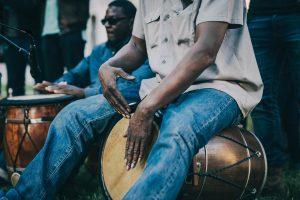 joueur de tambour gwoka