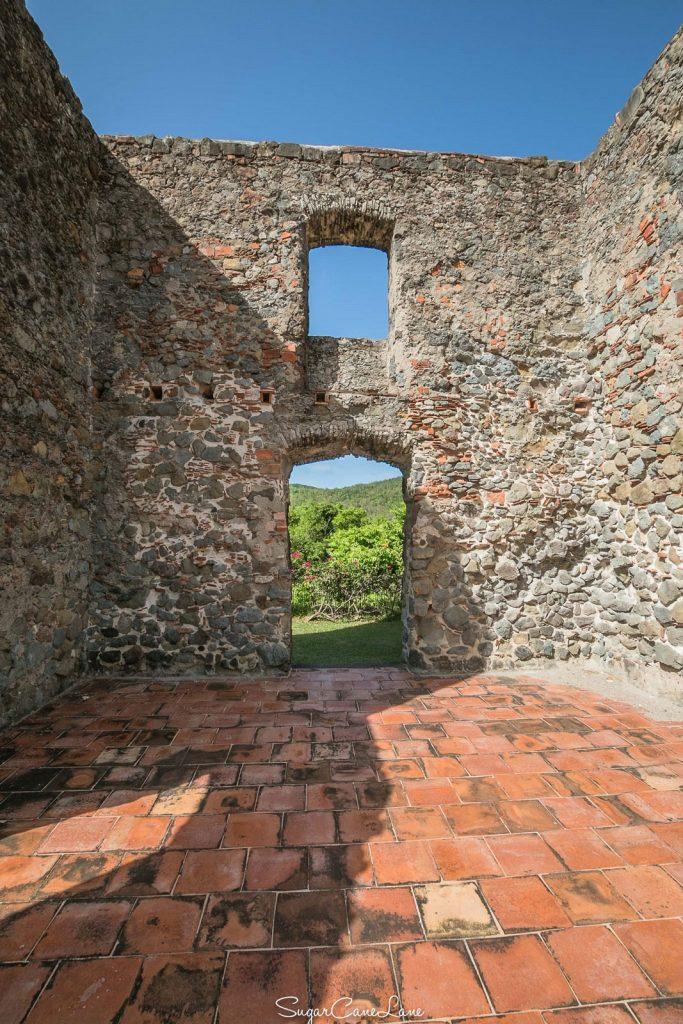Château Dubuc : l'intérieur de la maison de maître