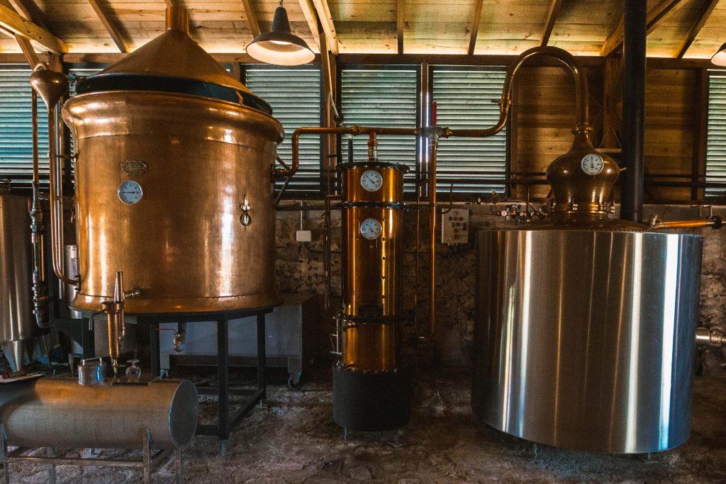 Habitation du Simon : la distillerie