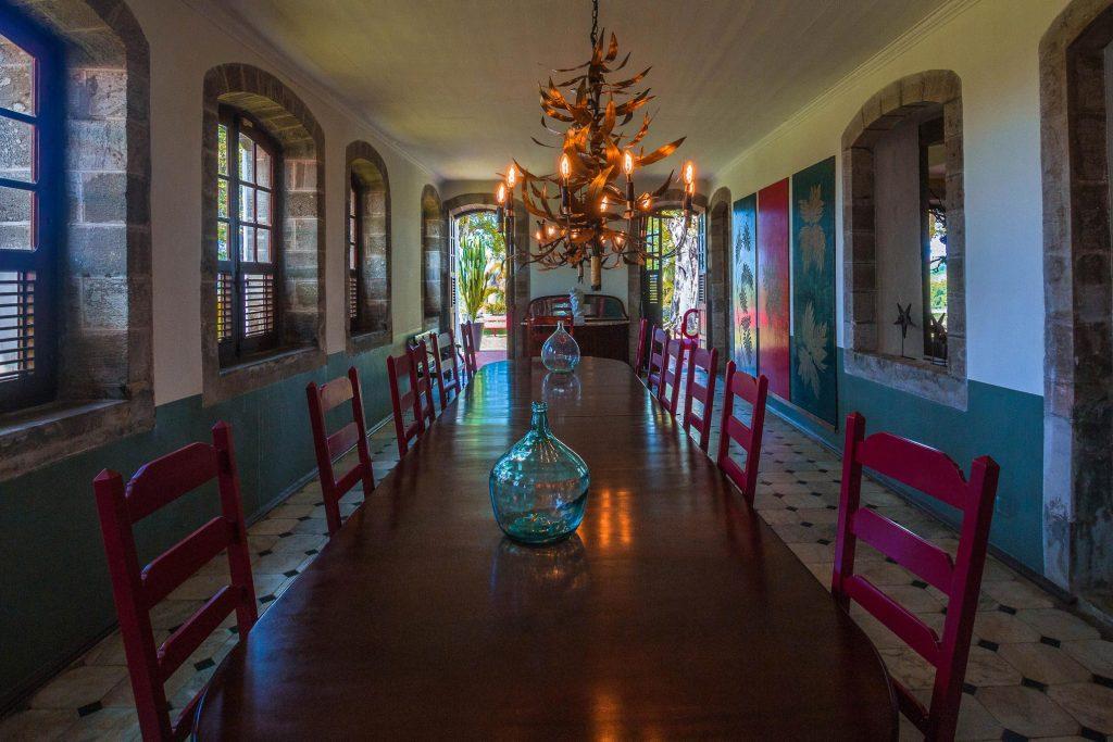 Habitation du Simon : salle à manger