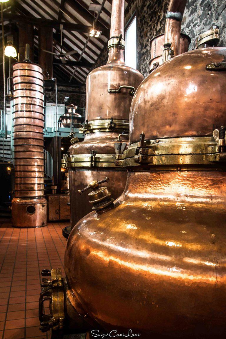 Rhums Saint-James - la maison de la distillerie