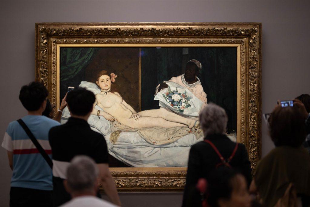 Musée d'Orsay : Olympia de Manet