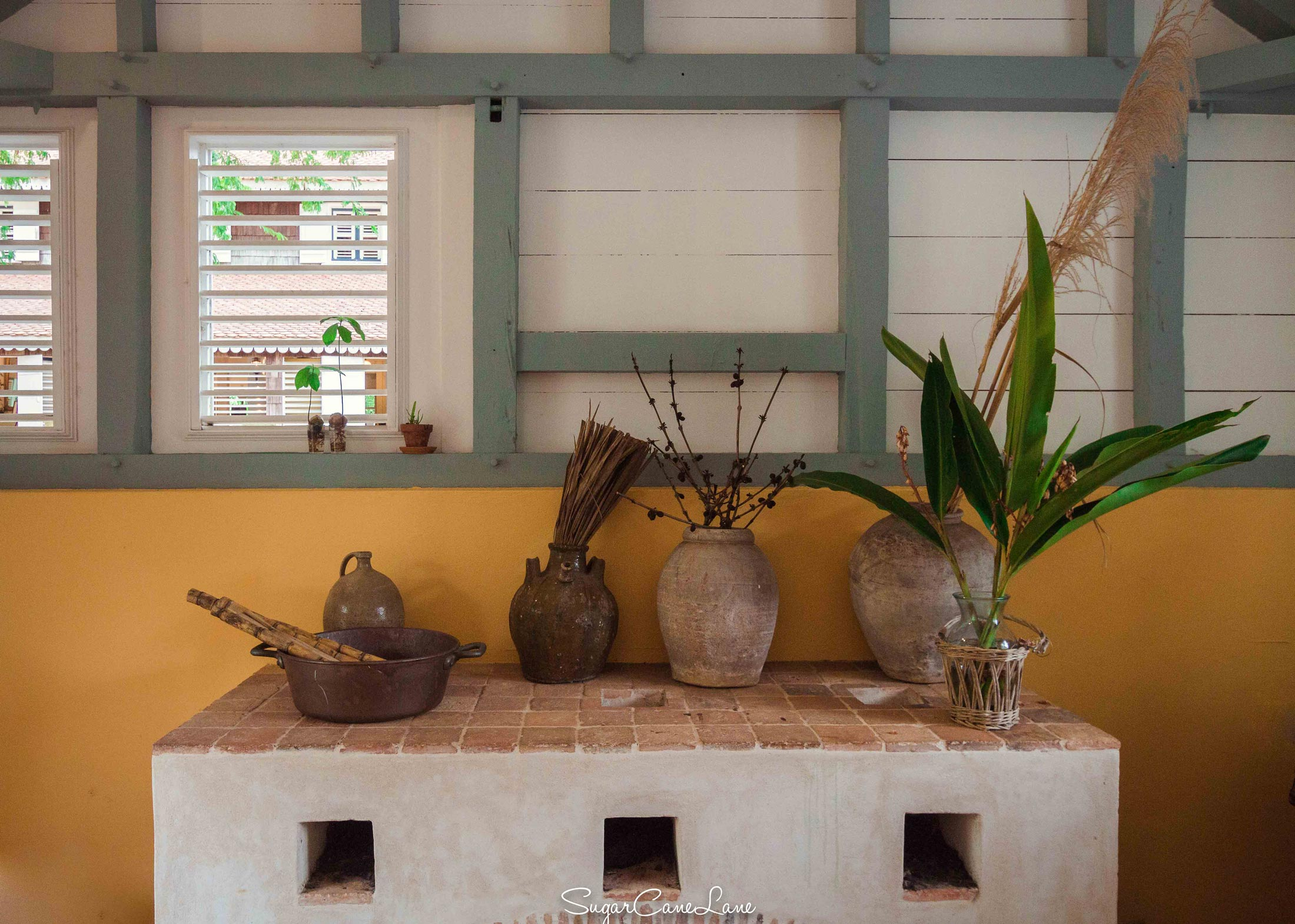 Habitation Clément : kitchen