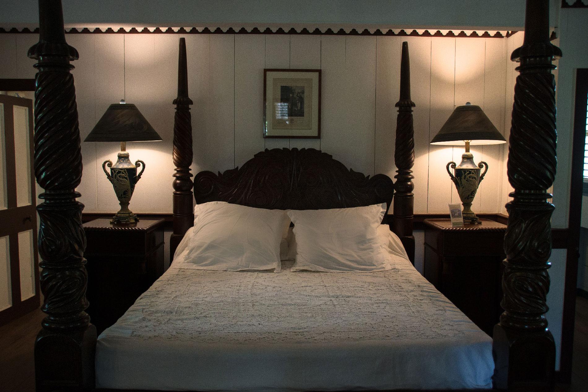 Habitation Clément : bedroom