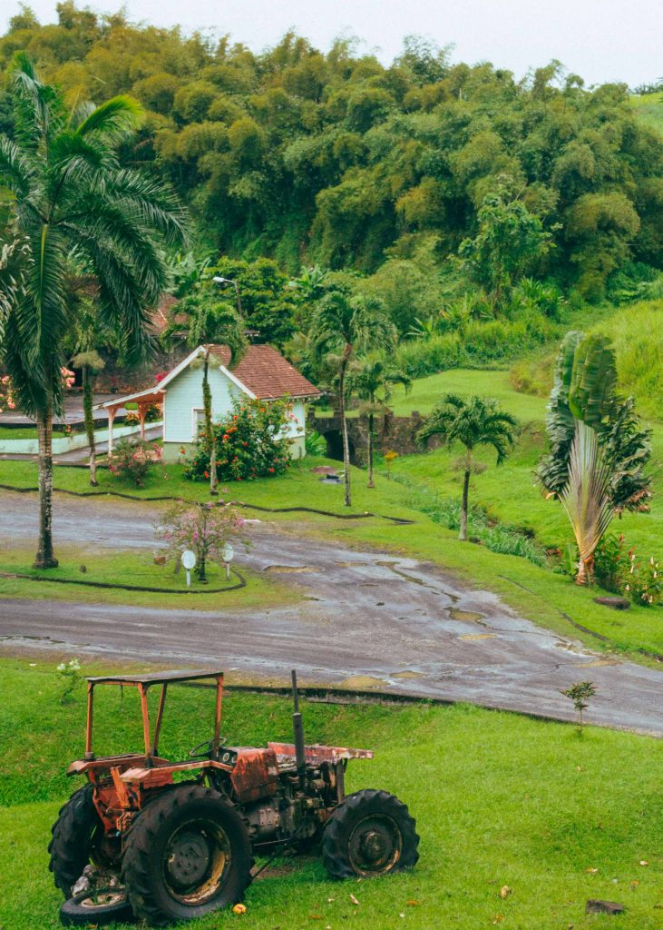 Martinique : entrée du Musée de la Banane
