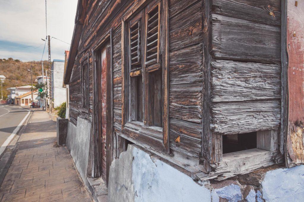 Vieille maison créole à Bellefontaine