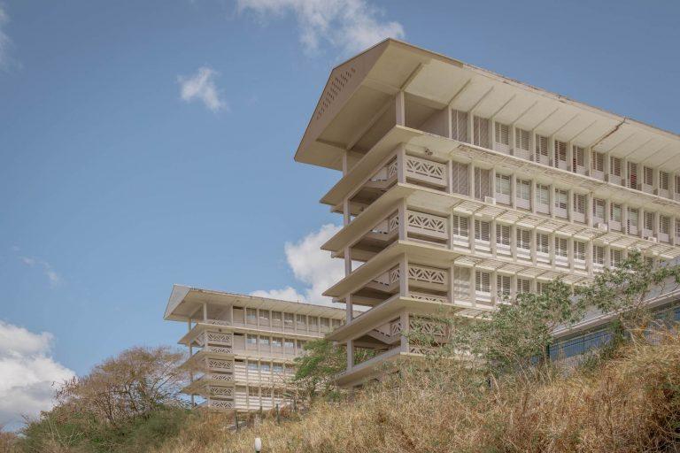 Bâtiments du lycées de Bellevue