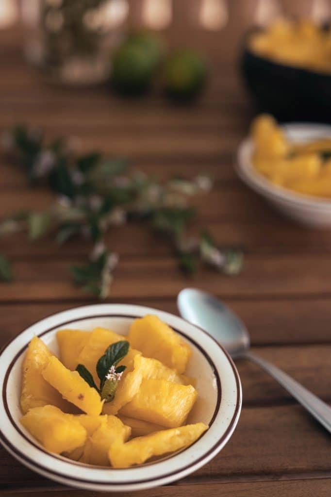petite salade d'ananas