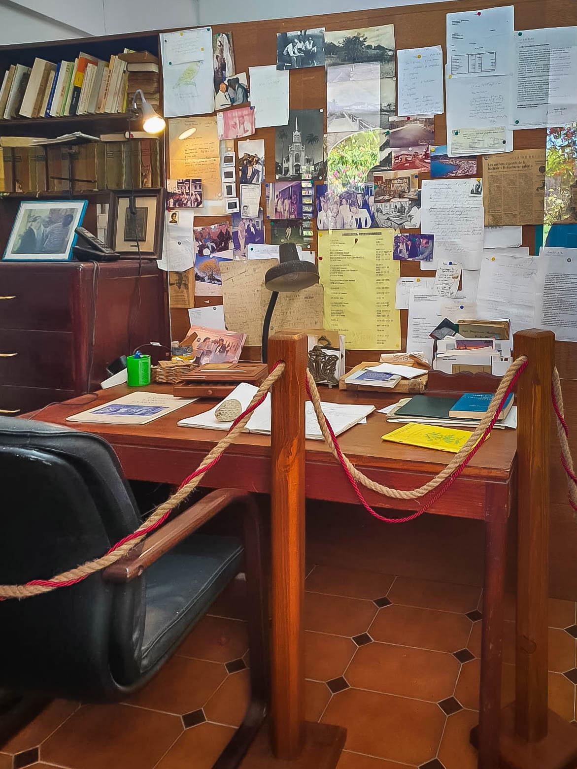 Bureau d'Aimé Césaire