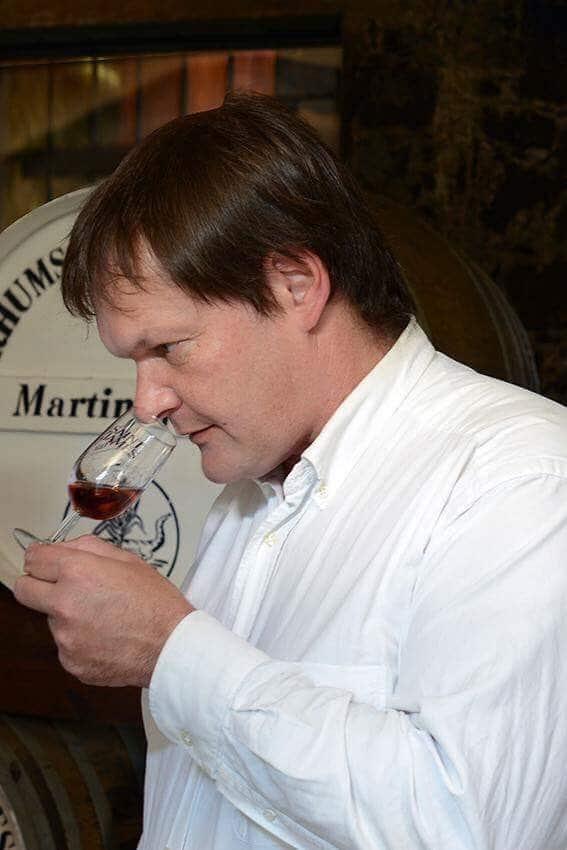 Marc Sassier, œnologue à Saint-James