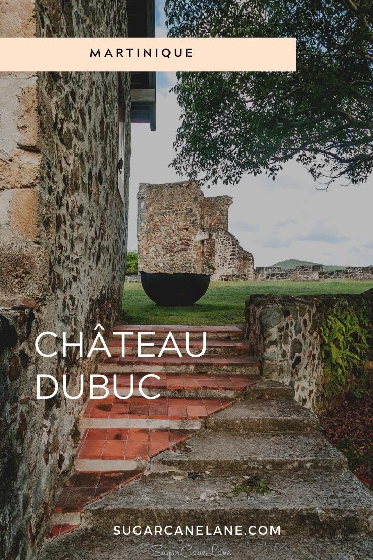 Fiche Pinterest Chateau Dubuc