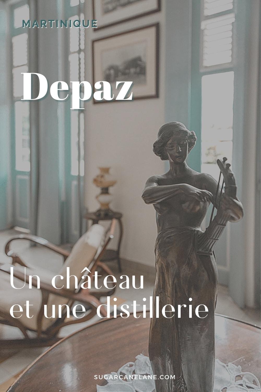 Fiche Pinterest Distillerie Depaz